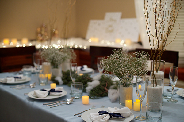 Winter Wonderland Tablescape Diy Central Square Florist