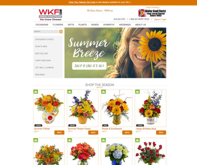 FlowerManager E-Commerce