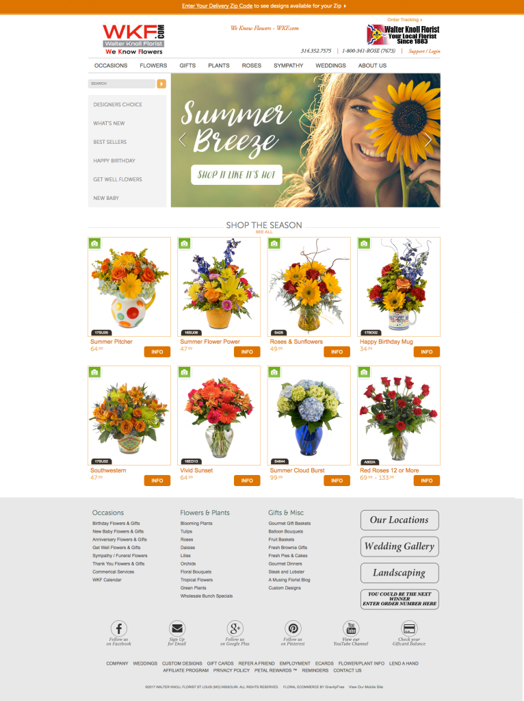 FlowerManager E-Commerce